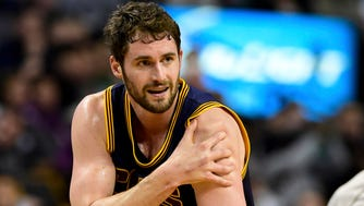 Kevin Love has been ruled out of the Eastern Conference semifinals.
