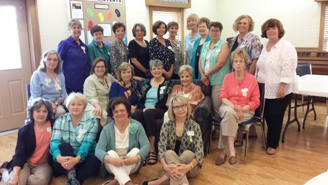 Members of Anderson Chapter L of Philanthropic Education Organization