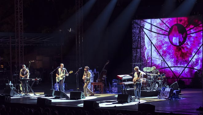 """Ray LaMontagne performs at The Woods at Fontanel in 2014. The owner is challenging Metro's zoning administrator's ruling that the """"stage shell"""" doesn't meet requirements."""