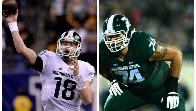 Connor Cook and Jack Conklin are two of the most intriguing MSU prospects in the 2016 NFL Draft
