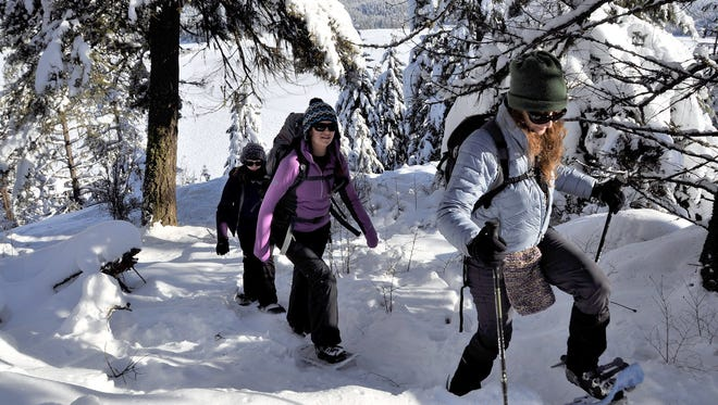 Enjoy the outdoors with upcoming hikes and snowshoeing events.