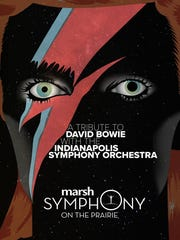 Kurt Nettleton's winning design for the Tribute to David Bowie.
