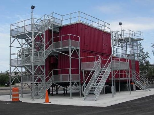 The new training facility will be mobile, although