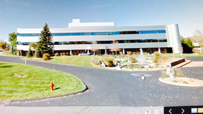 A building at the Strang Boulevard office park in Yorktown Heights.
