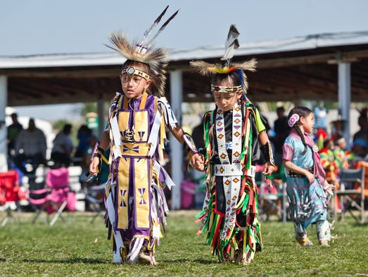 Crow Fair in Crow Agency, Mont., is like a state fair for the Crow people. The event includes a parade and a huge tepee encampment.