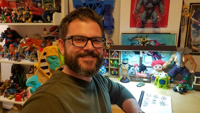 Ryan Peterson is a project designer with the Imaginext Global Brand Team with Fisher-Price near Buffalo, New York. Peterson is from the Lucas area and graduated from Lucas High School in 2001.