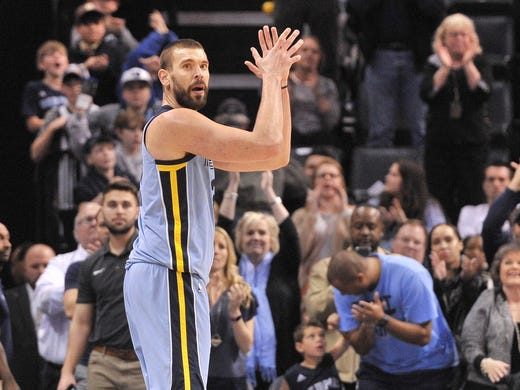 84. Marc Gasol | Total: $23.7M | Salary/winnings: $22.7M