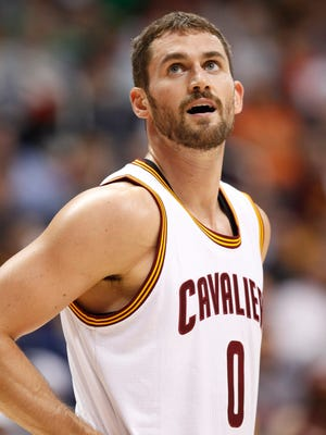 Cavs forward Kevin Love has never made the playoffs.
