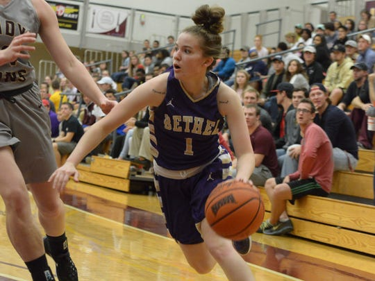 Cayla Sheets and Bethel are a No. 1 seed in the NAIA women's basketball national tournament.