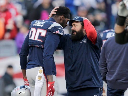 Chandler Jones, Matt Patricia