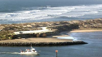 FILE: This undated photo shows Moss Landing State Beach. On Thursday, Feb. 24, 2021, Monterey County Sheriff's deputies released the name of the man swept out to sea four days before: Jorje Botello Jr.
