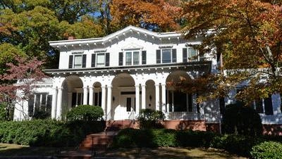 The Beattie House was built in  1834 and is one of Greenville's oldest structures.