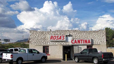 """Rosa's Cantina, at 3454 Doniphan Drive, was made famous by the country-western ballad """"El Paso,"""" sung by Marty Robbins."""