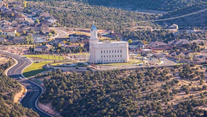 LDS Cedar City Temple.
