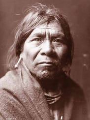 Pictured: Waluthma (Supai Charley).  Part of the exhibit