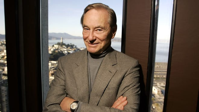 Tom Perkins, 73, poses in his office in San Francisco in 2006.
