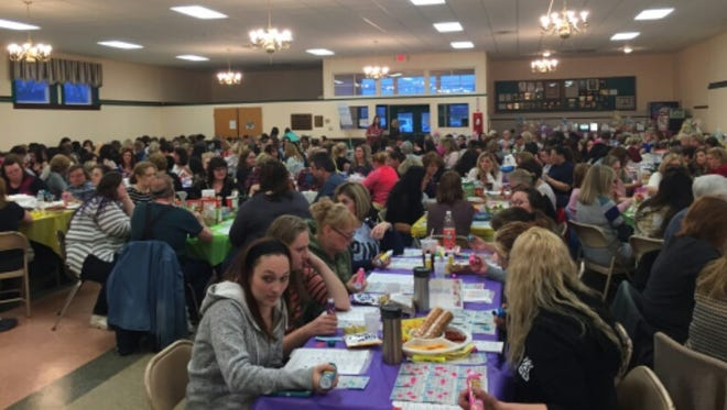 John C. Milanesi Elementary School's PTO held a Designer Handbag Bingo event to raise money to support student enrichment activities. Many parents, staff members and local community members came together for a fun night to benefit the students.