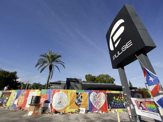 The Pulse nightclub site in November.