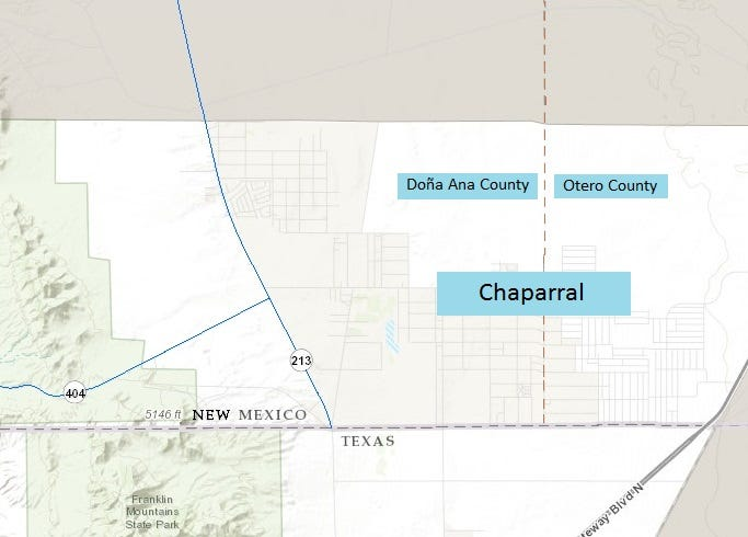 County line sparks firefighter flap in Chaparral