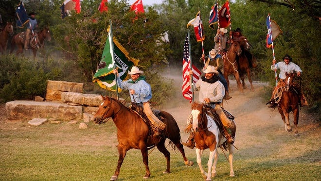 What is Fandangle without horses, flags and the flavor of the Old West. The annual June event opens next weekend at the Prairie Theater near Albany.
