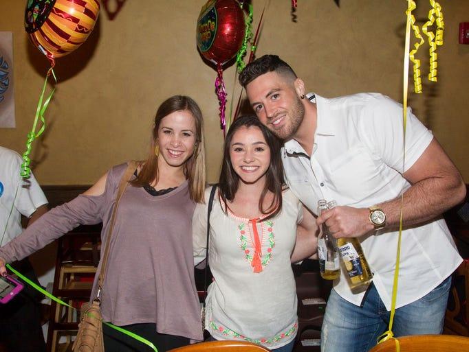 Jenn, Carri, Jim. Blue Moon in Wyckoff Celebrates Cinco