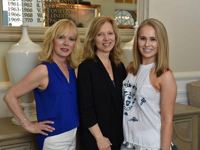 Diane Rasa, Lynn Heydt, and Emily Heydt. St. Joseph's