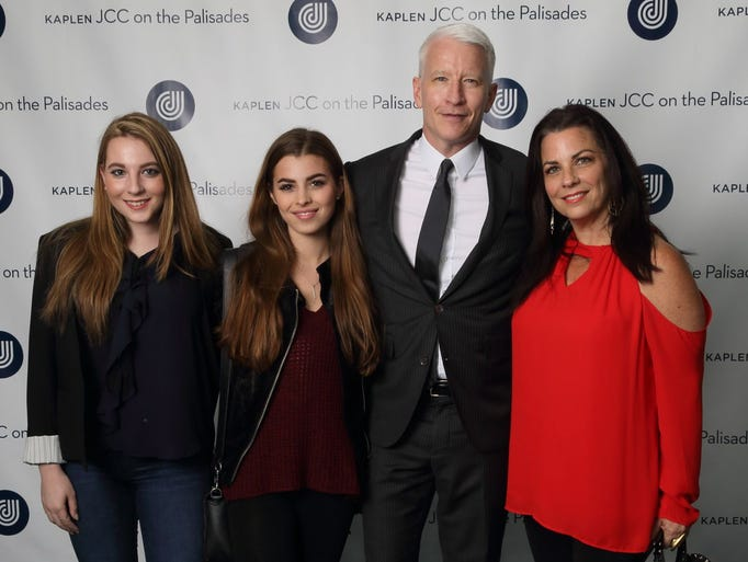 Anderson Cooper with guests. Kaplen JCC on the Palisades
