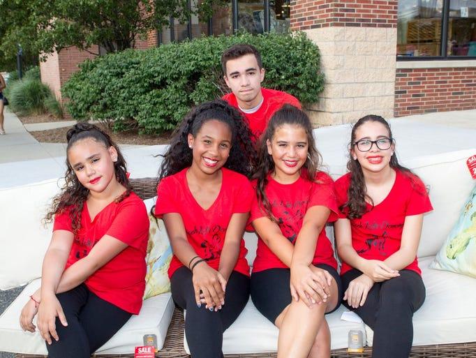 The Latin Dancers - Angelina Melendez, Jaylene Toribio,