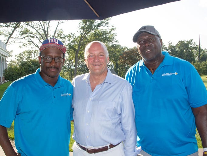 Former NY Giant Stephen Baker, CEO Mike Maron, Former