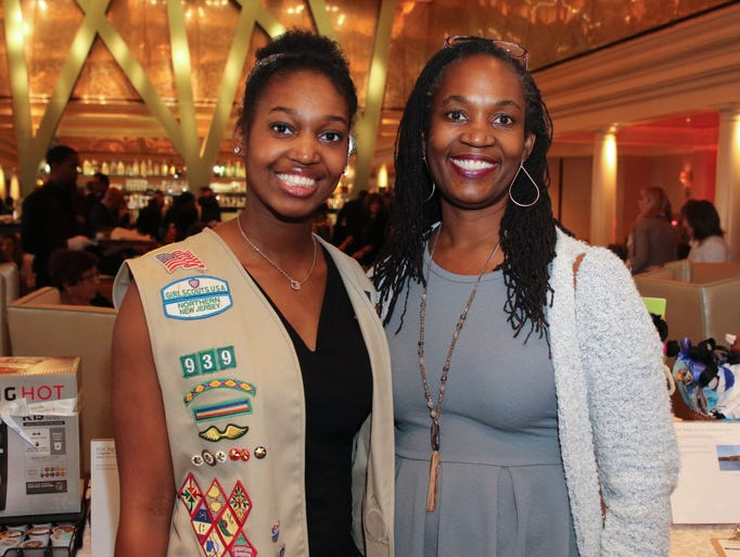 Jaelyn Mitchell, Mikele Simkins. The Girl Scouts of