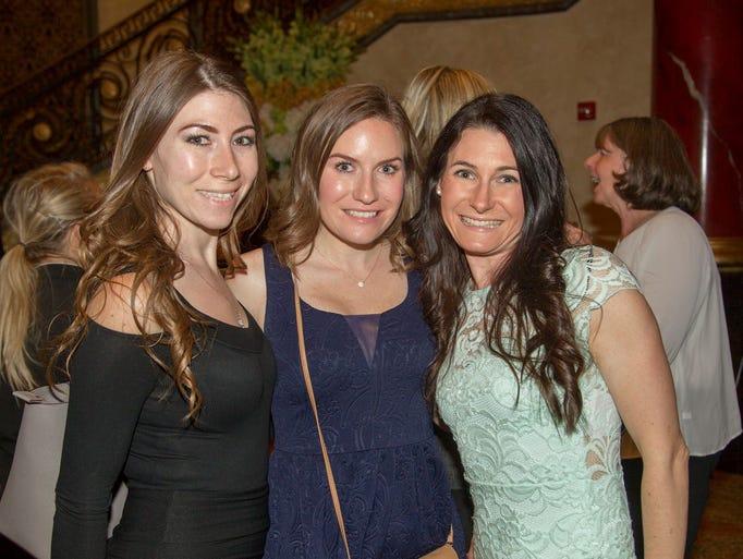 Raquel Benitez, Crystal Ruggiero and Michelle Ruggiero.