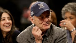 Bill Murray, actor and comedian shows his support for