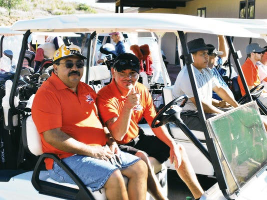 The Gila Regional Medical Center Foundation Golf Tournament was held on June 14, and had a full compliment of teams. Funds raised by the event go toward hospital needs and scholarships. Courtesy Photo
