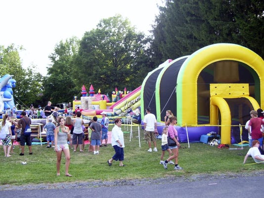 All ages enjoy the 2013 Drew Michael Taylor Family Fun Carnival and Splash Party in Shippensburg.