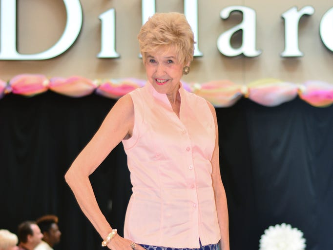 Boots Martin wearing Antonio Melani at the Dillard's Spring Fashion Show.