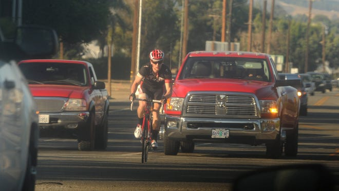 The regional planning agency for Ventura County and five other Southern California counties has launched an ad campaign encouraging drivers to slow down and look out for people biking and walking.