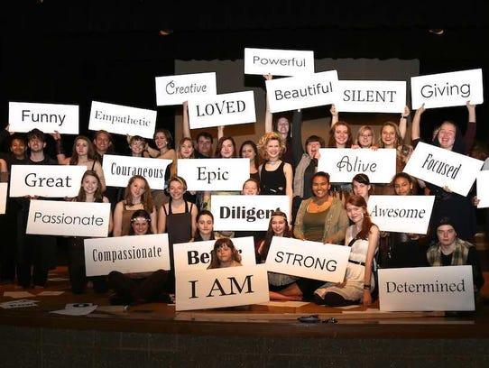 Door County high school students make positive statements