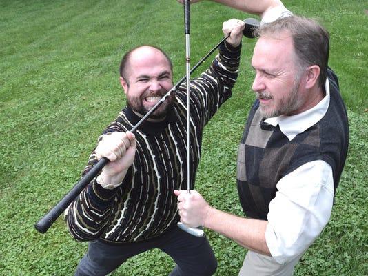 golf club fencing
