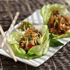 Here's how to make P.F. Chang's lettuce wraps at home