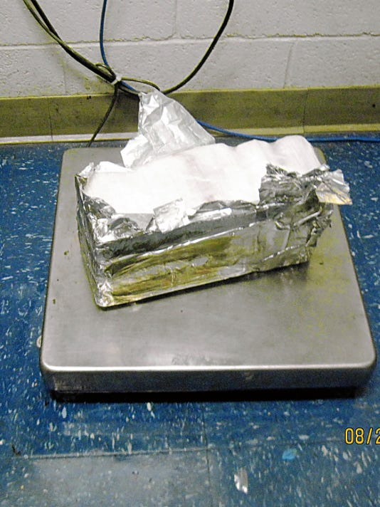 CBP officers seized 10 pounds of cocaine Thursday at the Bridge of Americas