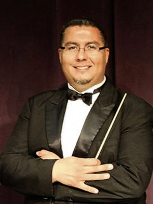 Courtesy Photo   Bernie Chavez has been the band director at Deming High School for the past 18 years, leading the Wildcat Concert Band to eight New Mexico state championships in the past 10 years, including the school's first title as a Class 6A program last month..