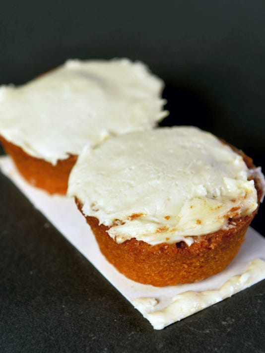 Tastykake's pumpkin spice cupcakes.
