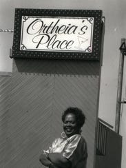 Barnes-Kennerly in 1990 at her nighclub Ortheia's Place.