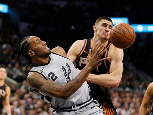 87b61e9d332c NBA  Phoenix Suns at San Antonio Spurs