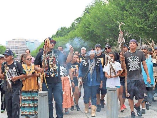 San Carlos Apache Tribe protest