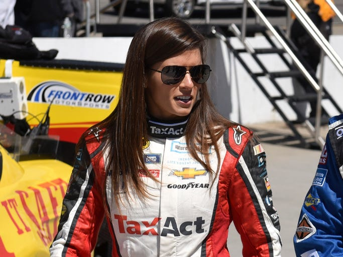 Danica Patrick, born March 25, 1982, in Beloit, Wis.,