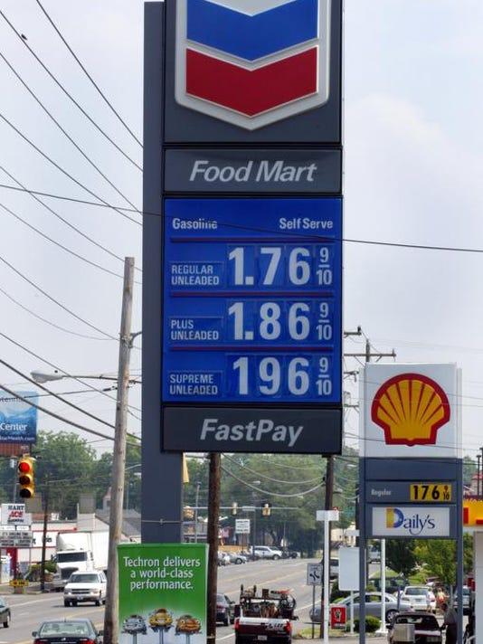 Gas Prices, Chevron Gas Station