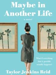 """""""Maybe in Another Life,"""" book cover by Taylor Jenkins"""