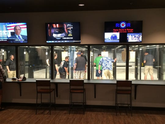 The facility features 20 25-yard live fire lanes and also offers a comfortable observation area.