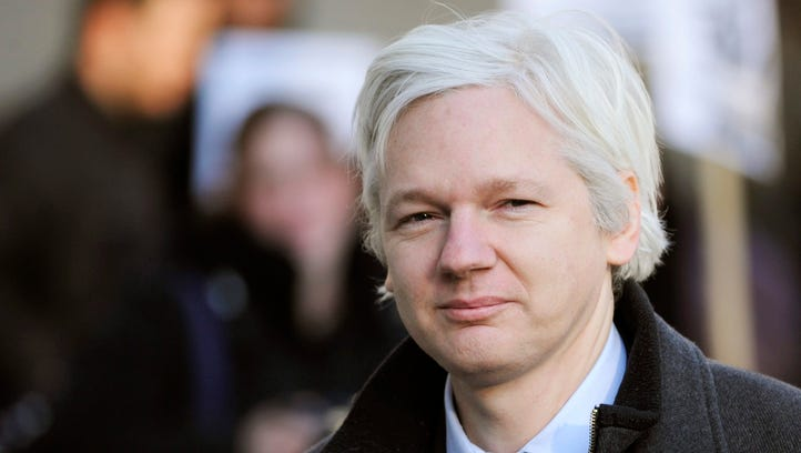 A file picture dated Feb. 2, 2012 of WikiLeaks founder